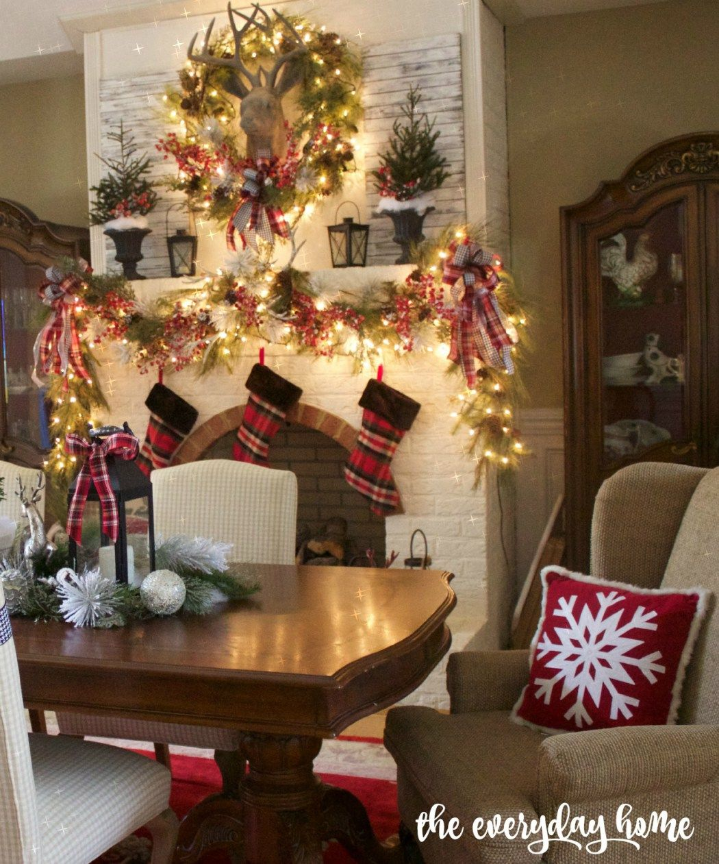 formal dining room christmas decorating ideas