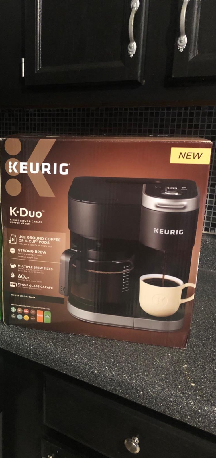 Hot Sale K Duo Coffee Maker Single Serve And 12 Cup Carafe Drip Coffee Brewe Cupping Coffee Ideas Of Cupping Coffee Cuppingcof In 2020 Single Coffee Maker Coffee Coffee Cups