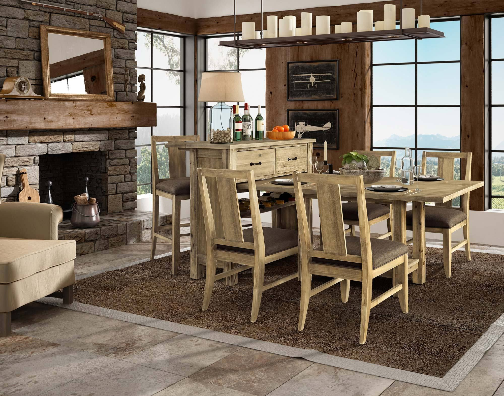 Napa Pine Dining Room Set | Fairmont Designs Furniture ...