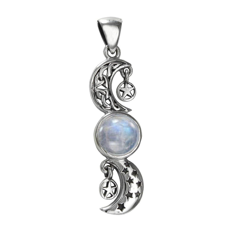 celtic moonstone necklace - HD1500×1500