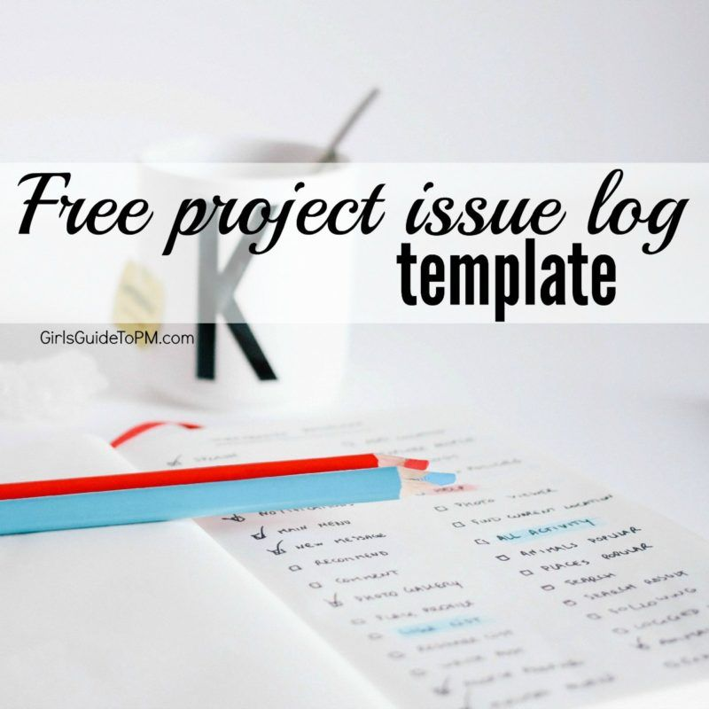 Free Project Issue Log Template  Logs