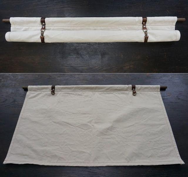 Livd / Naai- en stoffeeratelier: Roll-Up canvas gordijnen | Van Life ...