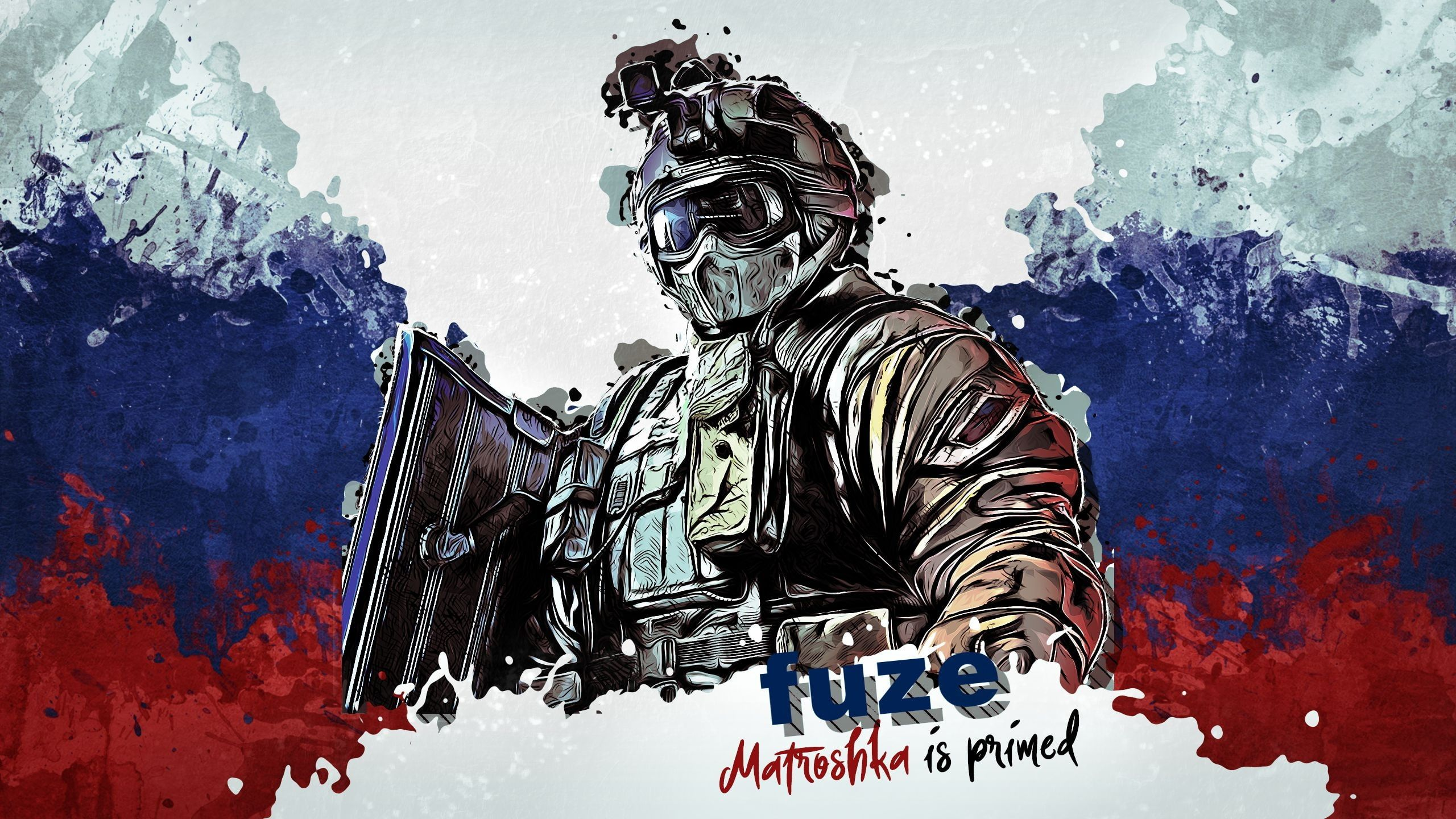 Rainbow Six Siege Fuze Tom Clancy S Rainbow Six 2k Wallpaper
