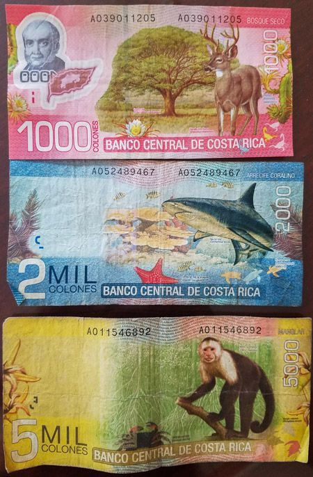 How To Handle Money In Costa Rica Rican Colones Exchanging