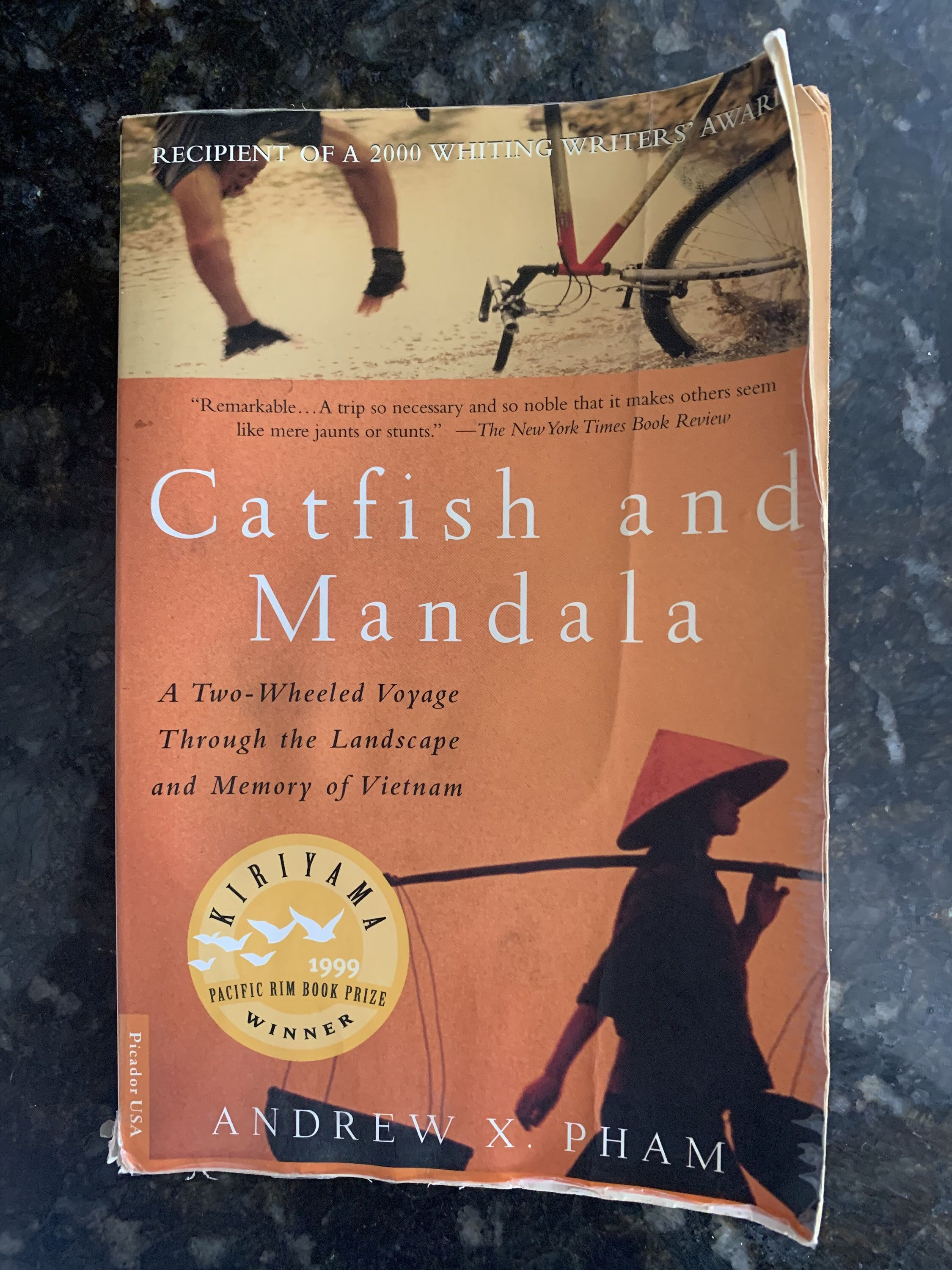Excited To Share This Item From My Etsy Shop Catfish And Mandala A Two Wheeled Voyage Through The Landscape Memoir Writing American Odyssey Romance Writers