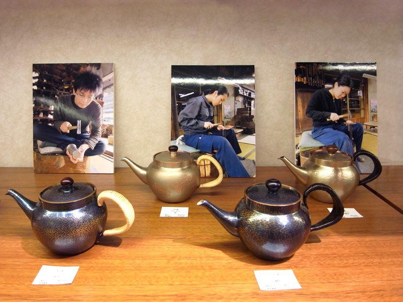 gyokusendo copperware: ken okuyama at isetan mitsukoshi