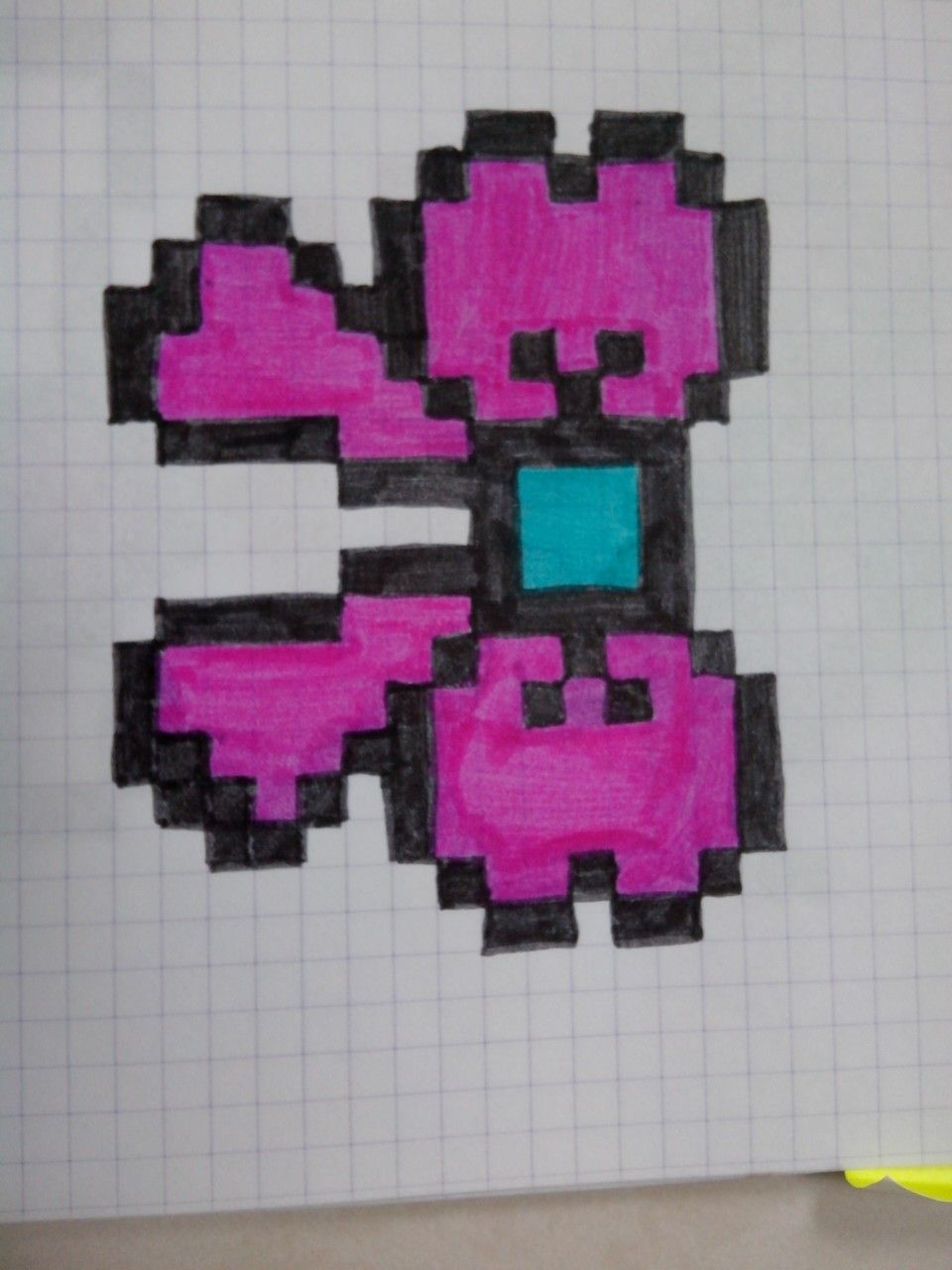 Pixel Art Papillon Difficile