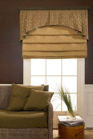 Soft Fold With Board Mounted Valance Phase Ii Fabric