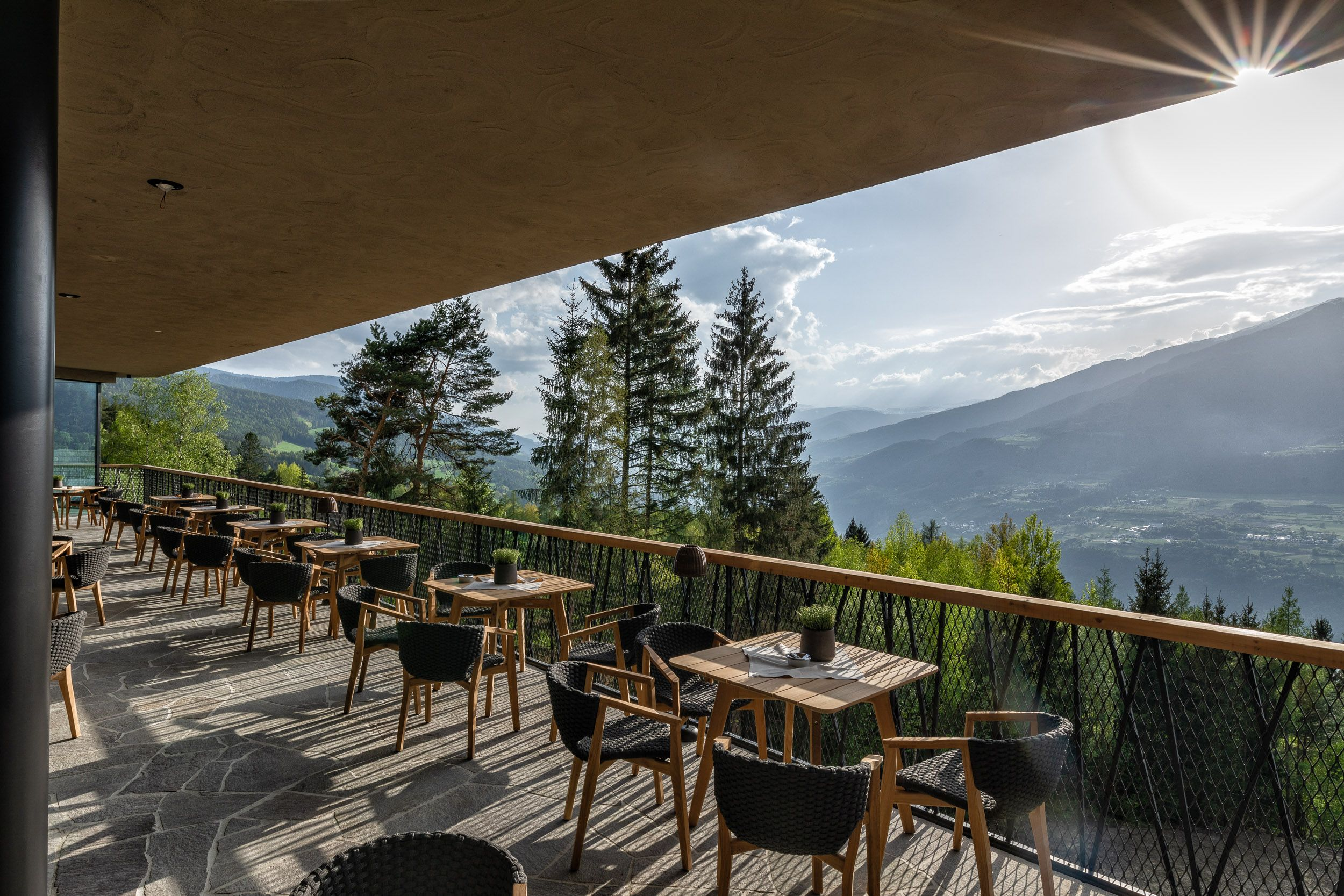 In South Tyrol, there is a magic place, a Hotel surrounded