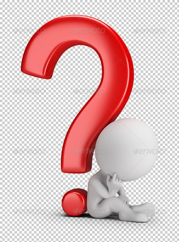 3d Small Person Sitting Next To A Question Mark 3d Image Transparent High Resolution Png Wi This Or That Questions Graphic Design Templates Sculpture Lessons