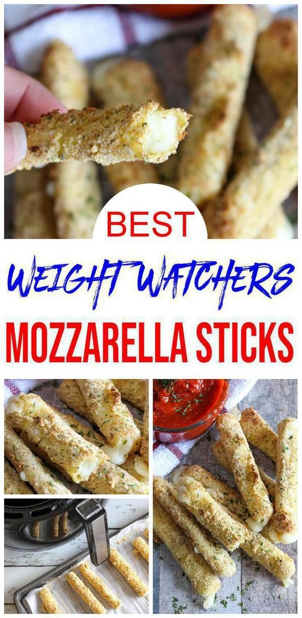 Weight Watchers Mozzarella Sticks – BEST WW Air Fryer Recipe – Dinner – Lunch – Treat – Snack with Smart Points images