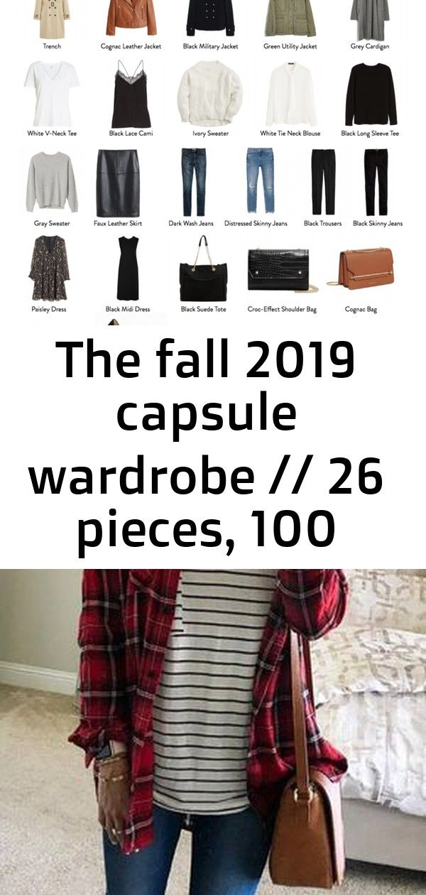 The fall 2019 capsule wardrobe // 26 pieces, 100 outfits 1 #firstdayofschooloutfits