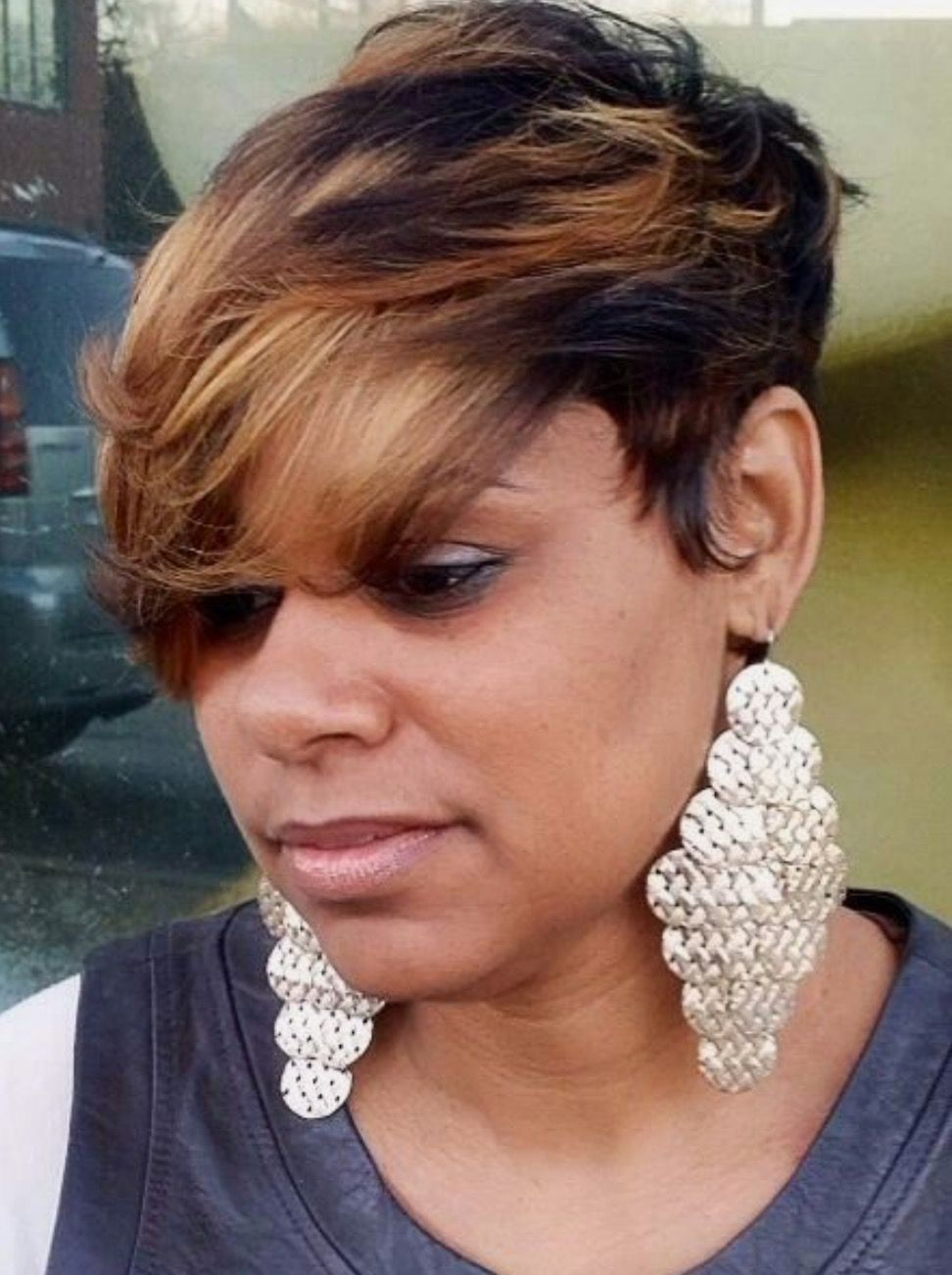 Pin by sidney on highlights for african american hairstyles