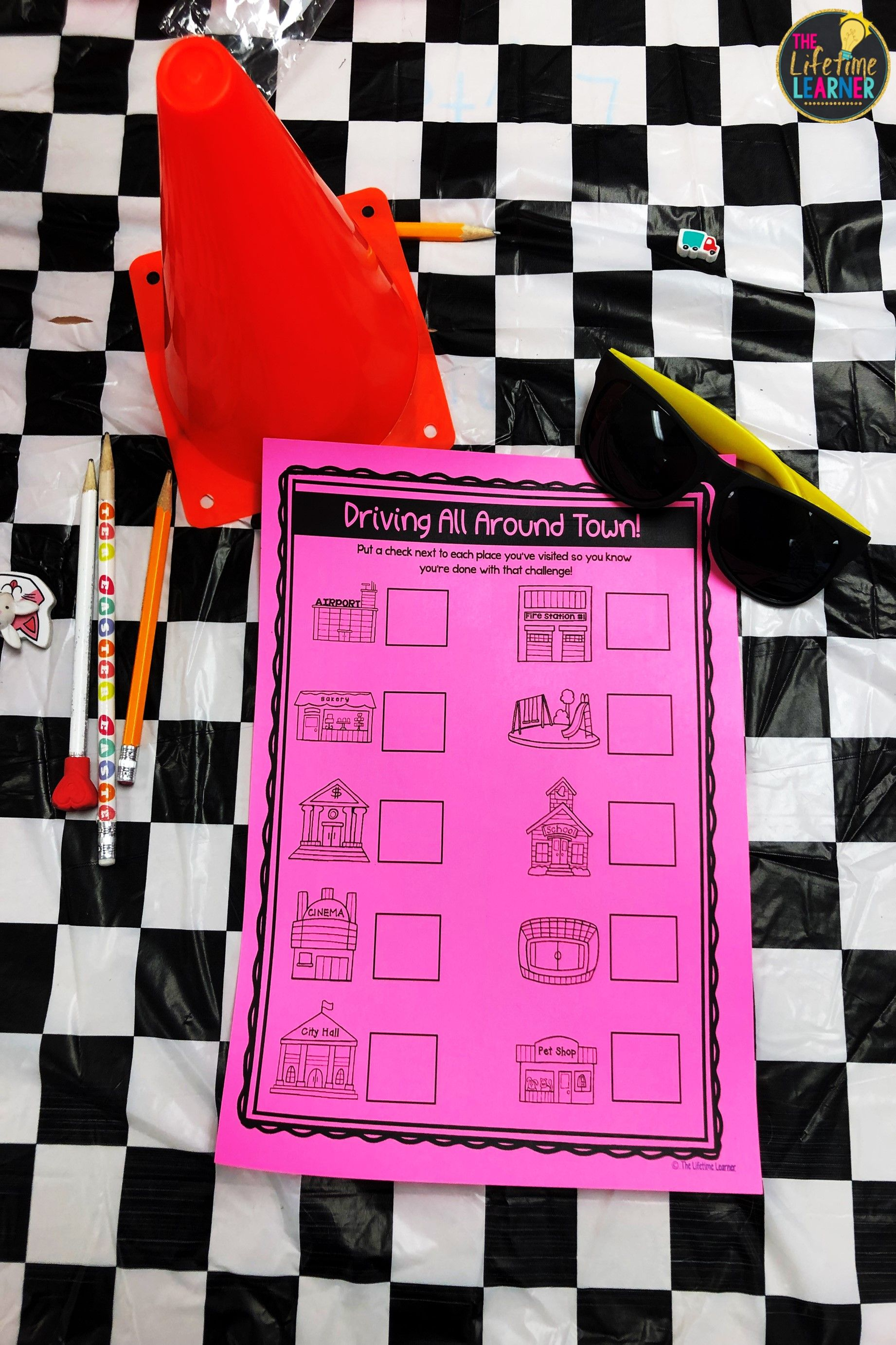 Race Car Classroom Transformation
