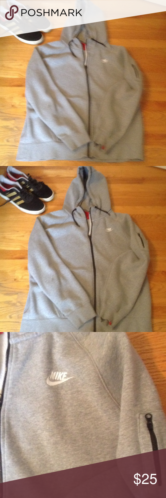 Nike hoodie. Perfect for the game or just some chilly weather. Nike Jackets & Coats