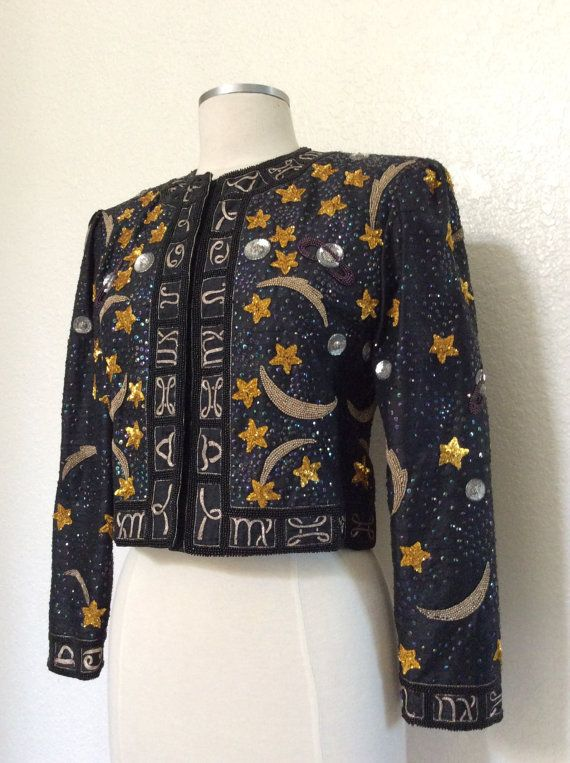 Amazing Vintage Pompian Beaded and by PassionFlowerVintage on Etsy