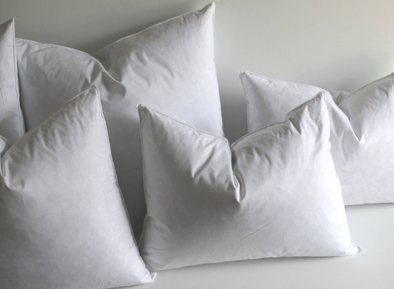 26x26 Down Pillow Inserts Quality Pillow Inserts Feather