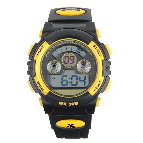 Kids Watch – FSX-519G Water Resistant Digital Sports Wrist Watches for Ages 5-15 Boys with Back…