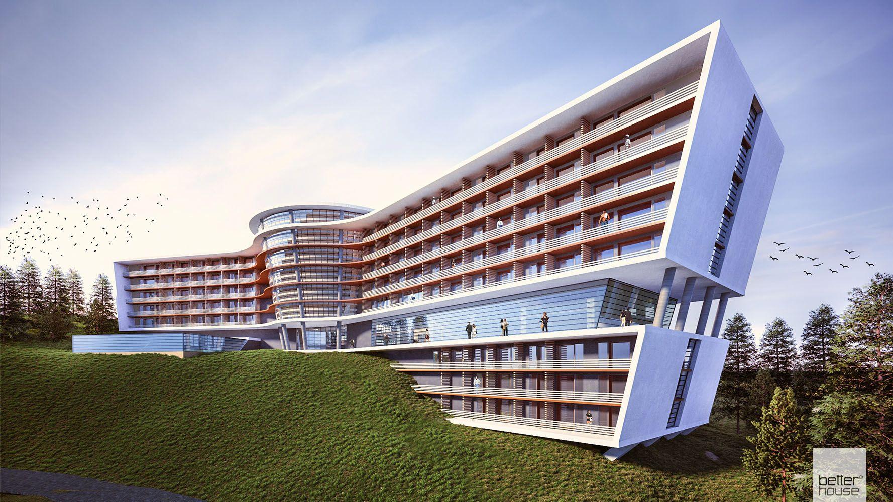 01 Architecture Design Betterhouse Ro Mountain Hotel Betterhouse