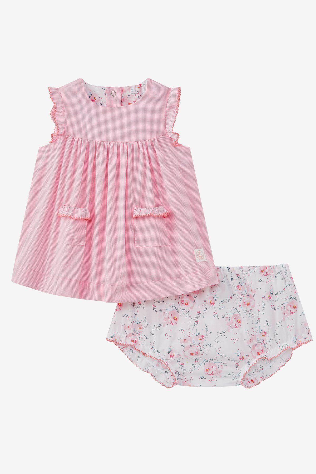 Petit Bateau Baby Girls Clothing Set