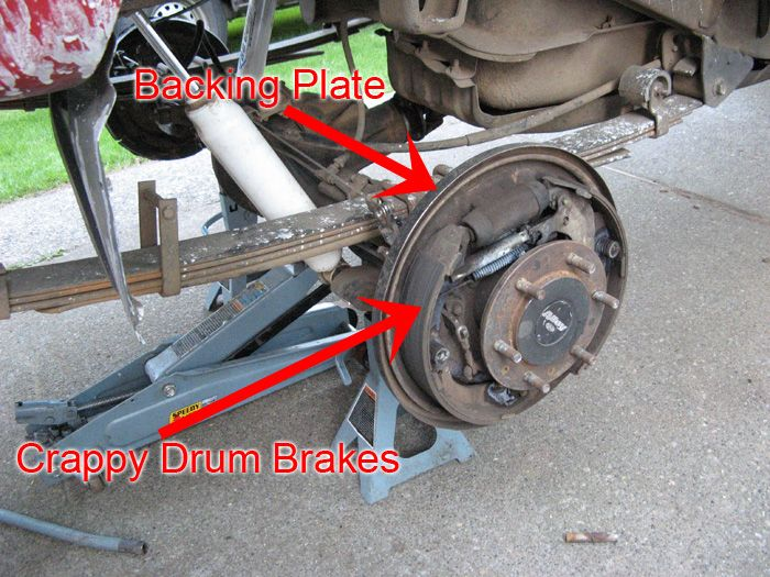 Toyota Pickup Rear Drum Brake Conversion Yota S Drum