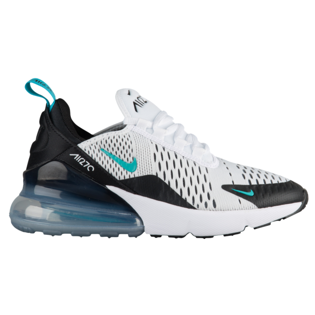 size 40 98715 e0744 Nike Air Max 270 Boys  Grade School White Dusty Cactus Black