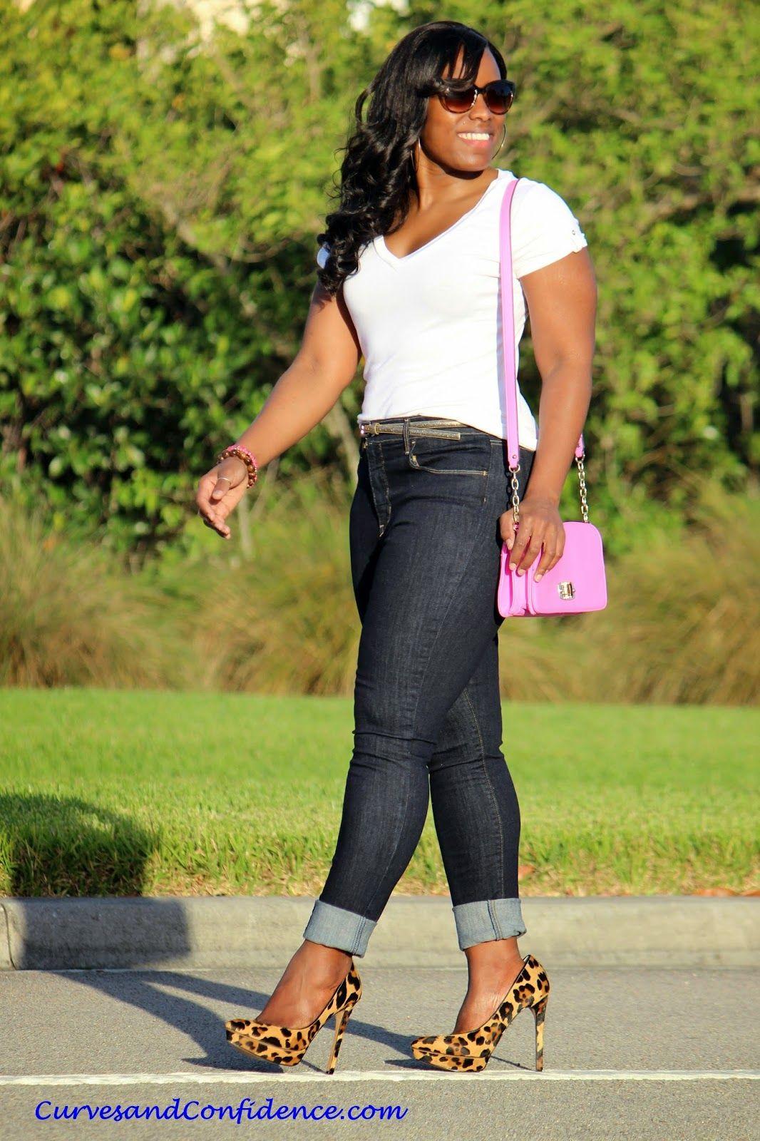Weekend Wear: High-Waist Jeans