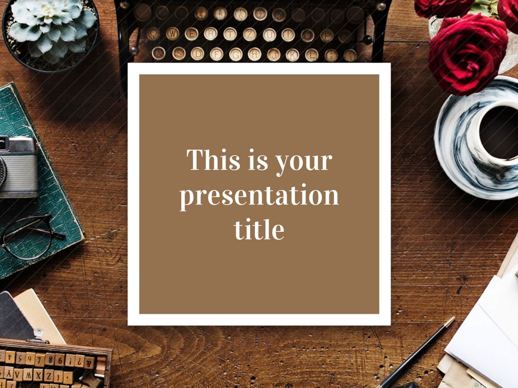 Free Elegant And Classy Powerpoint Template Or Google Slides Theme
