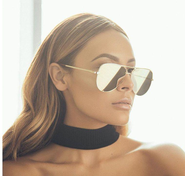 565e0a29c5 Quay Australia High Key Sunglasses - Gold Gold  fashion  clothing  shoes