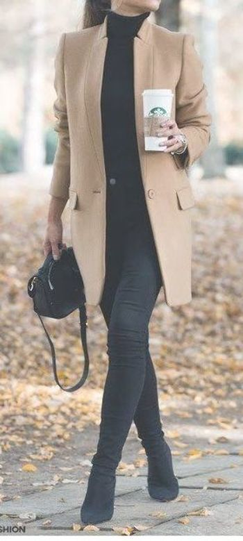 Womens Fashion Outfits For Work Casual Fall and winter style