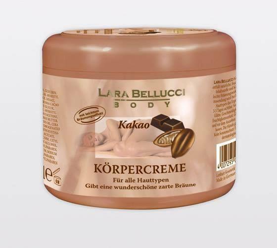 Lara Bellucci Body Kakao Korpercreme Amp Ole Fur Alle Hauttypen