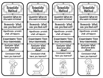Bookmarks Scientific Method Scientific Method Science Notebooks Scientific