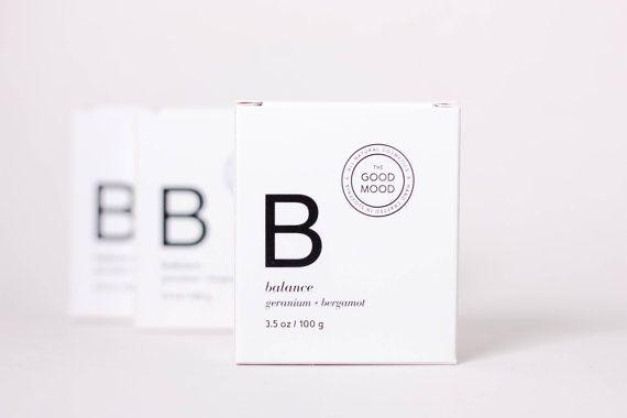 Balance Soap. Geranium  Bergamot. by Thegoodmoodcosmetics on Etsy
