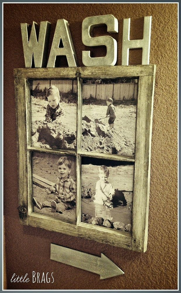 How To Decorate With Old Windows Around the house Pinterest