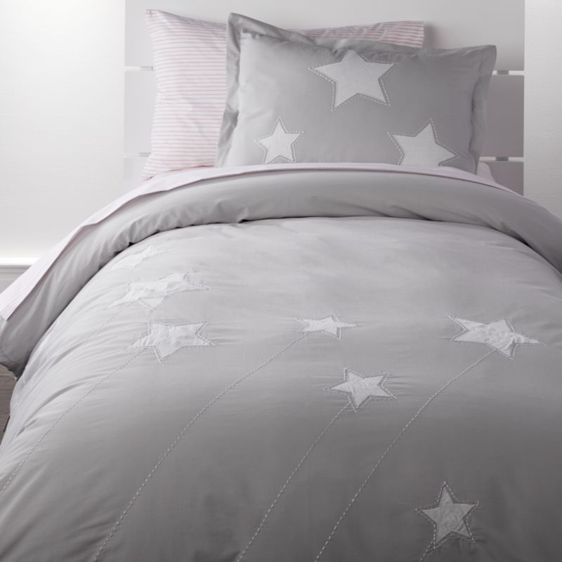 Sale Ends Soon Free Shipping Shop Star Twin Duvet Cover Forget Wishing Upon A Star Because It S Time To Snu Star Bedding Gray Duvet Cover Duvet Covers Twin