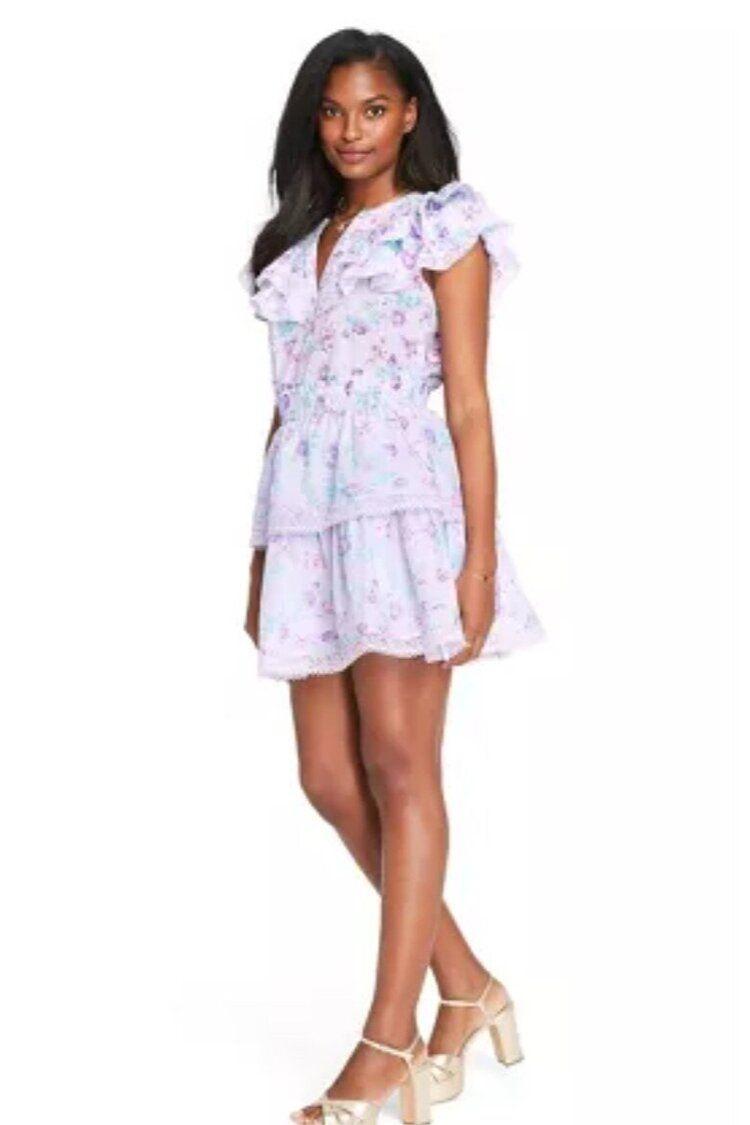 Let S Go Shopping Love Shack Fancy X Target Collaboration Christie Ferrari Ruffle Dress Womens Tank Dress Womens Sleeveless Dress [ 1125 x 750 Pixel ]