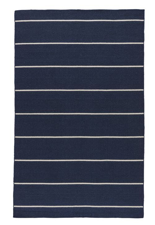 Enjoy This Traditional Nautical Styled Cape Cod Deep Blue Striped