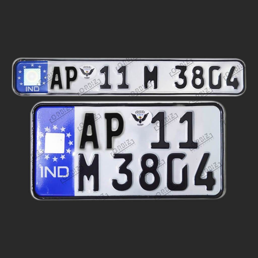 Orbiz German Number Plate Number Plate Design Online Design
