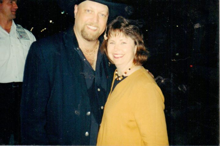 Me and Eddie Montgomery. He twirls his microphone throughout the concert. Lead singer too. PRESDIENT'S CASINO Biloxi, MS