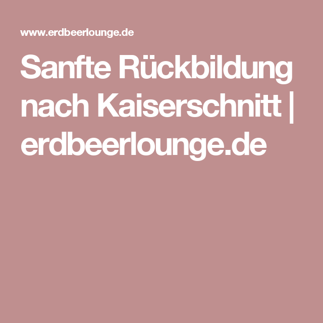 sanfte r ckbildung nach kaiserschnitt fitness. Black Bedroom Furniture Sets. Home Design Ideas