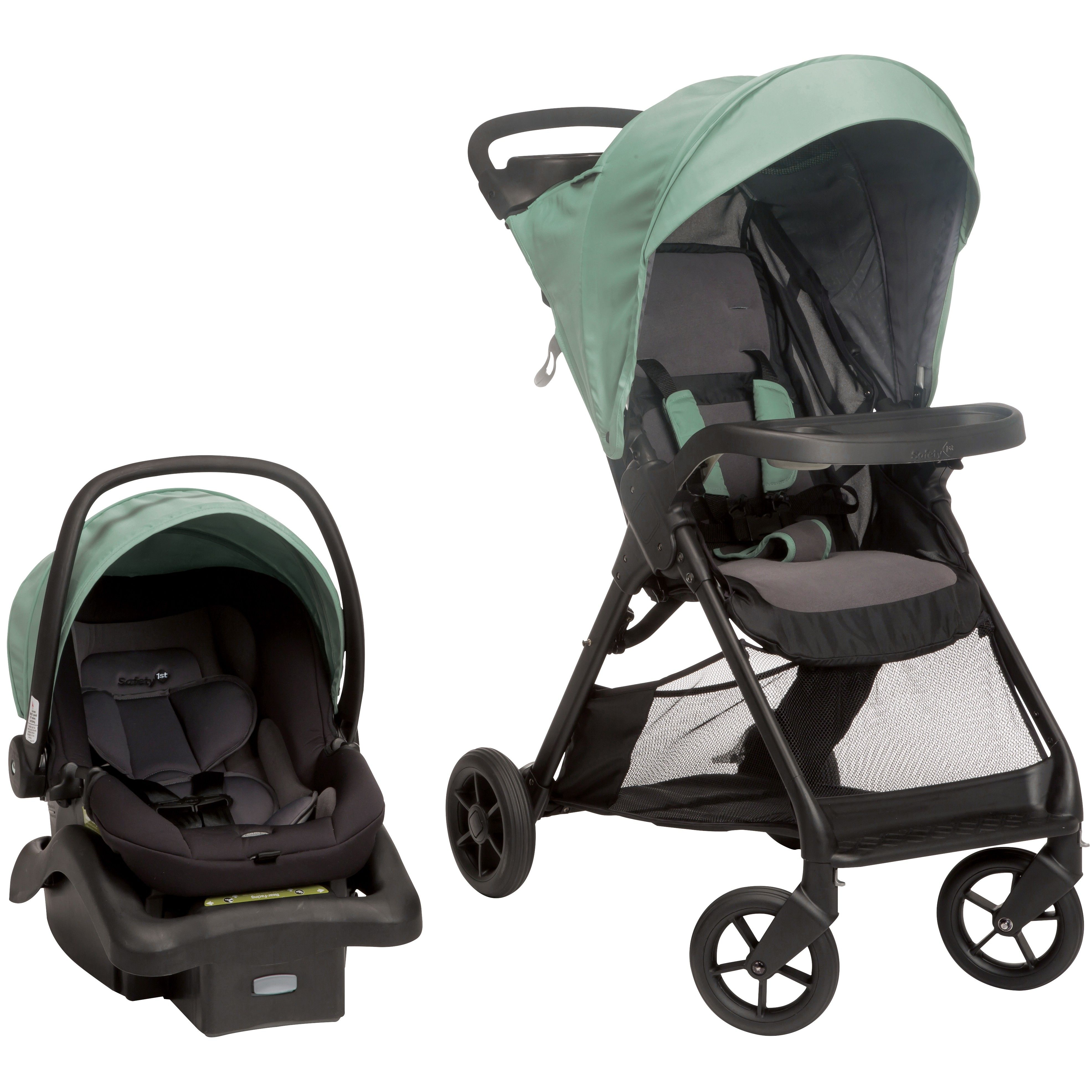 Smooth Ride Travel System Moss Green Travel system