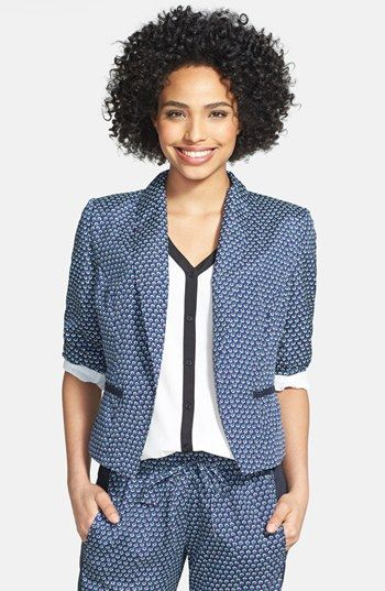 KUT from the Kloth Print Blazer available at #Nordstrom