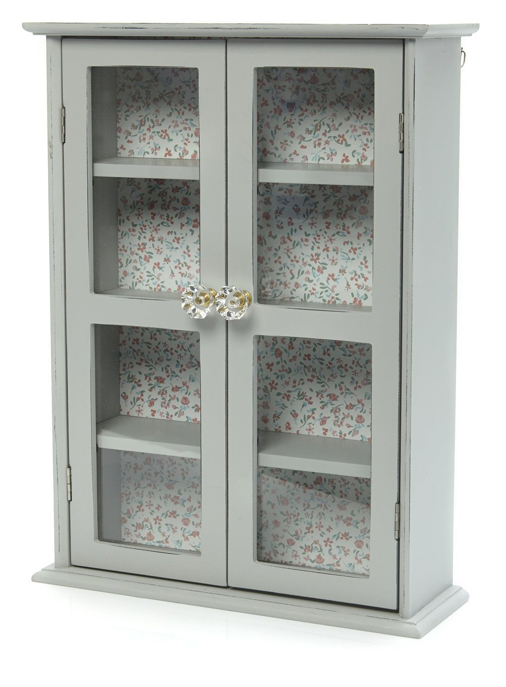 Wall Hanging Cabinet With Gl Doors