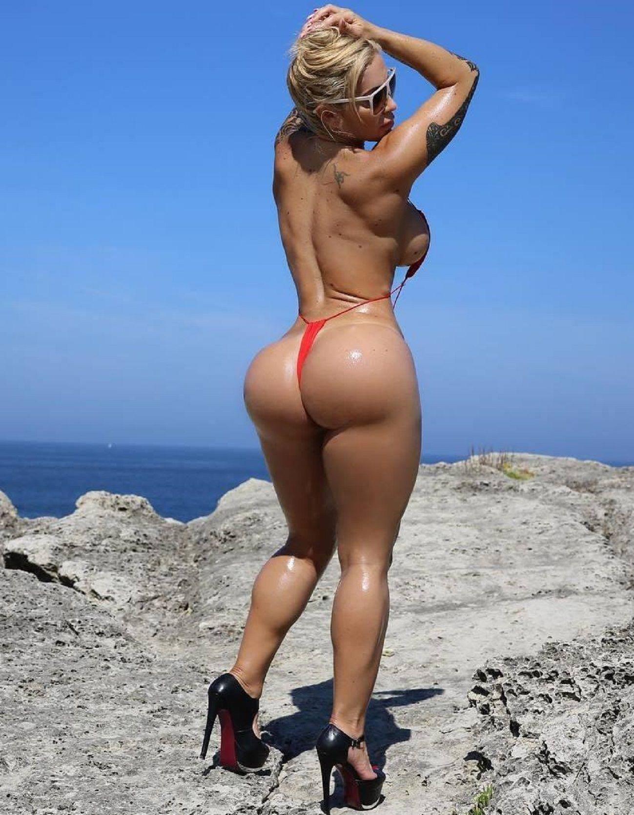 Want big booty nude 2018 Khalifa