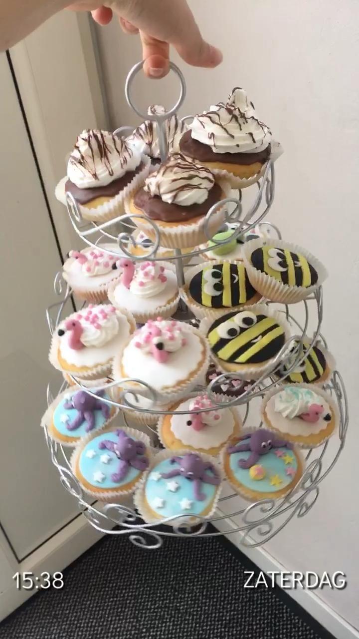 #cupcake #cake  #animals #lovedesign  🧡 #birthday