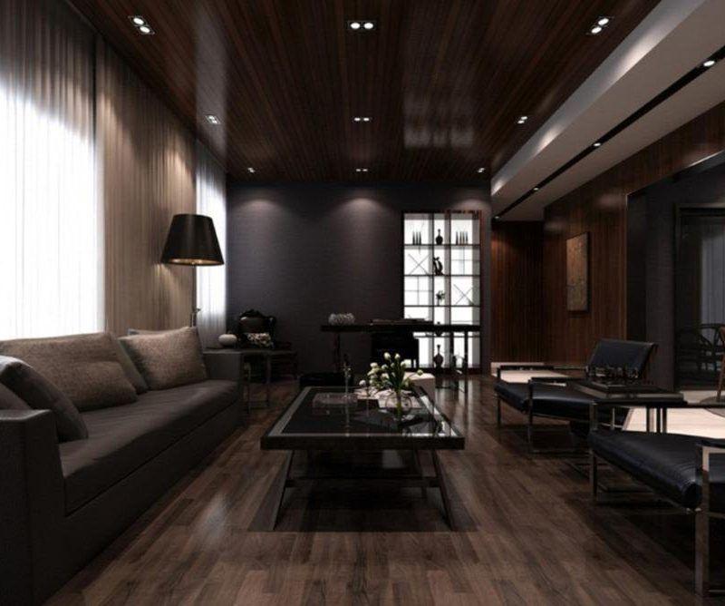 Dark Style Wood Living Room Living Room Furniture Living Room Furniture Arrangement Ideas Living Roo Male Living Space Dark Living Rooms Living Room Designs