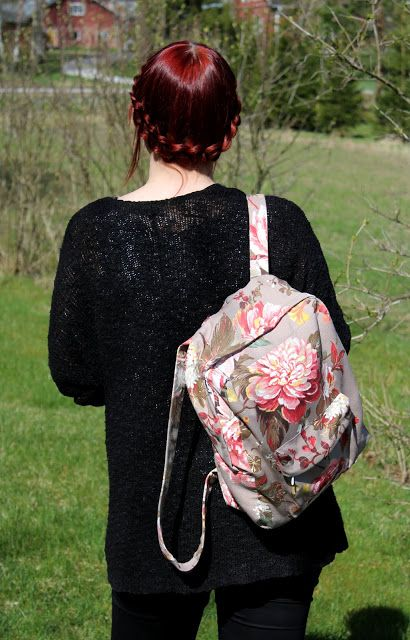 DIY reppu | Backpack | Pitsin viemää
