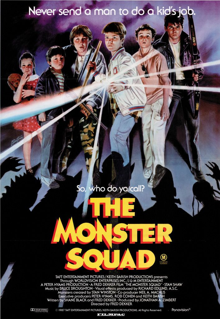 The Monster Squad - Australian poster | Movies/TV Shows I've