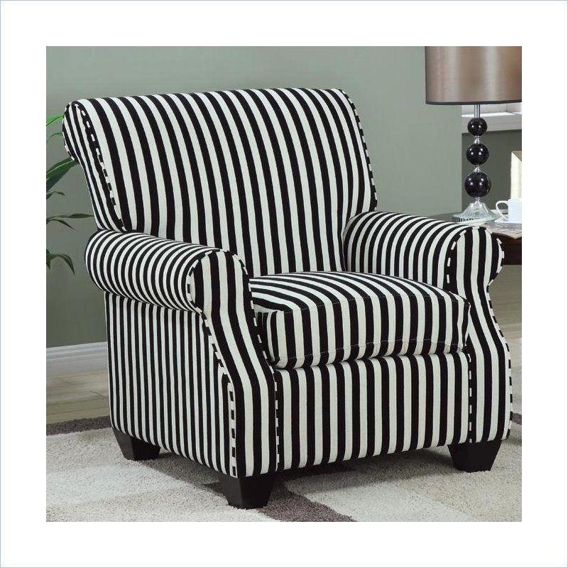 Park Art My WordPress Blog_Black And White Striped Chair Fabric