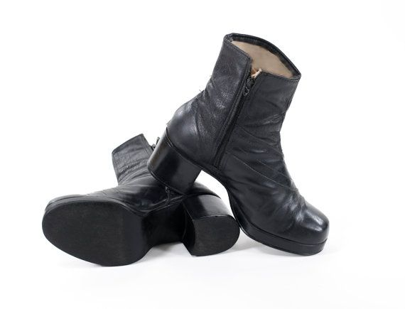 promo codes popular stores on feet shots of Disco Boots Vintage 1970s Men's Beatle Boots by ...